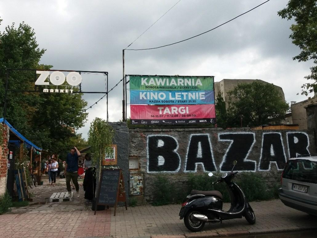 Warsaw markets ZOO Market Bazar