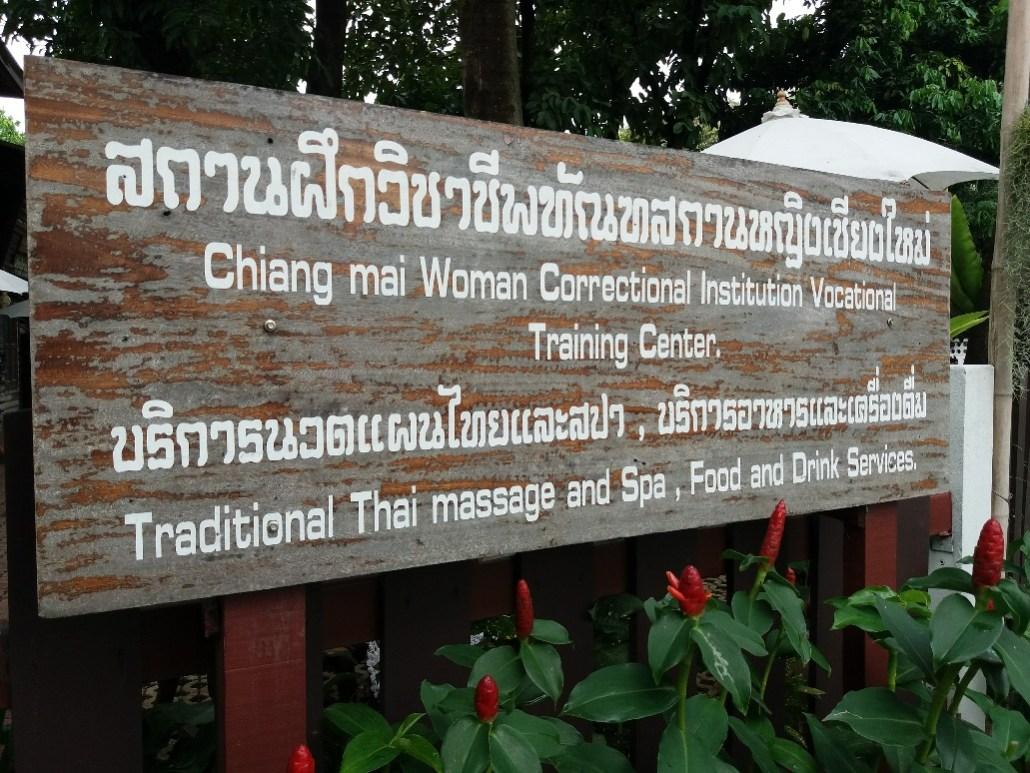 Prison massage in Chiang Mai