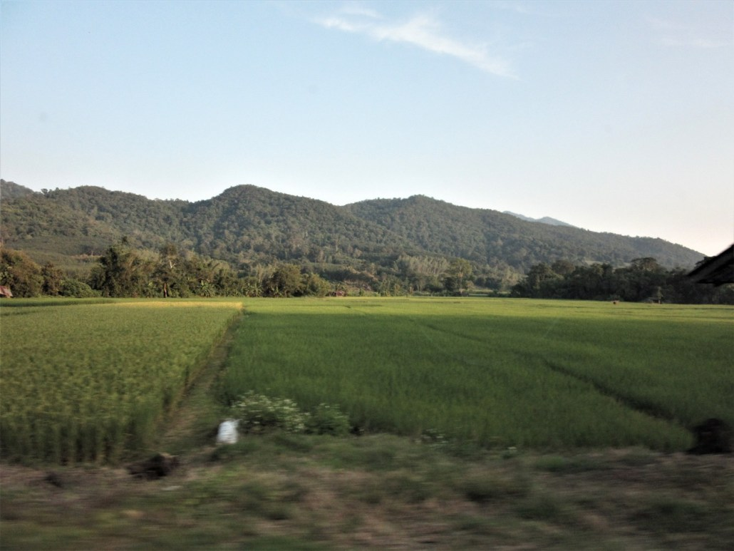 On the road to Phu Chi Fa