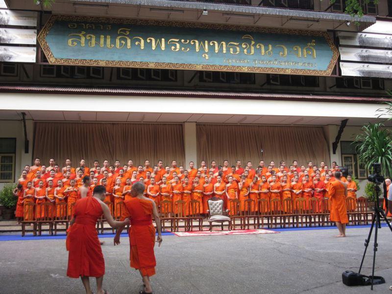 Wat Phra Kaew Chiang Rai Buddha Day