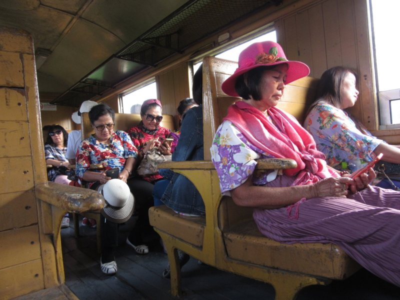 Riding the Death Railway at Kanchanaburi