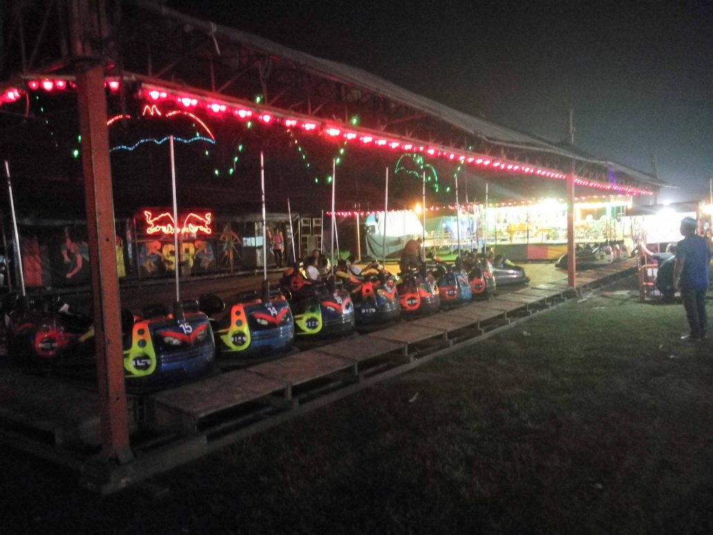 Bumper Cars kanchanaburi night market