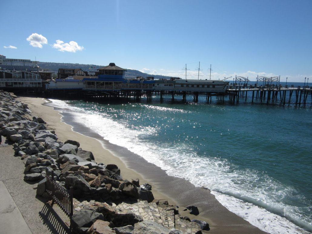 Redondo pier near Torrance CA