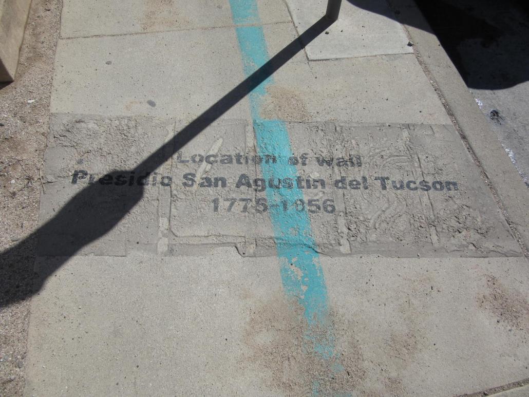 Turquoise trail in Tucson Arizona