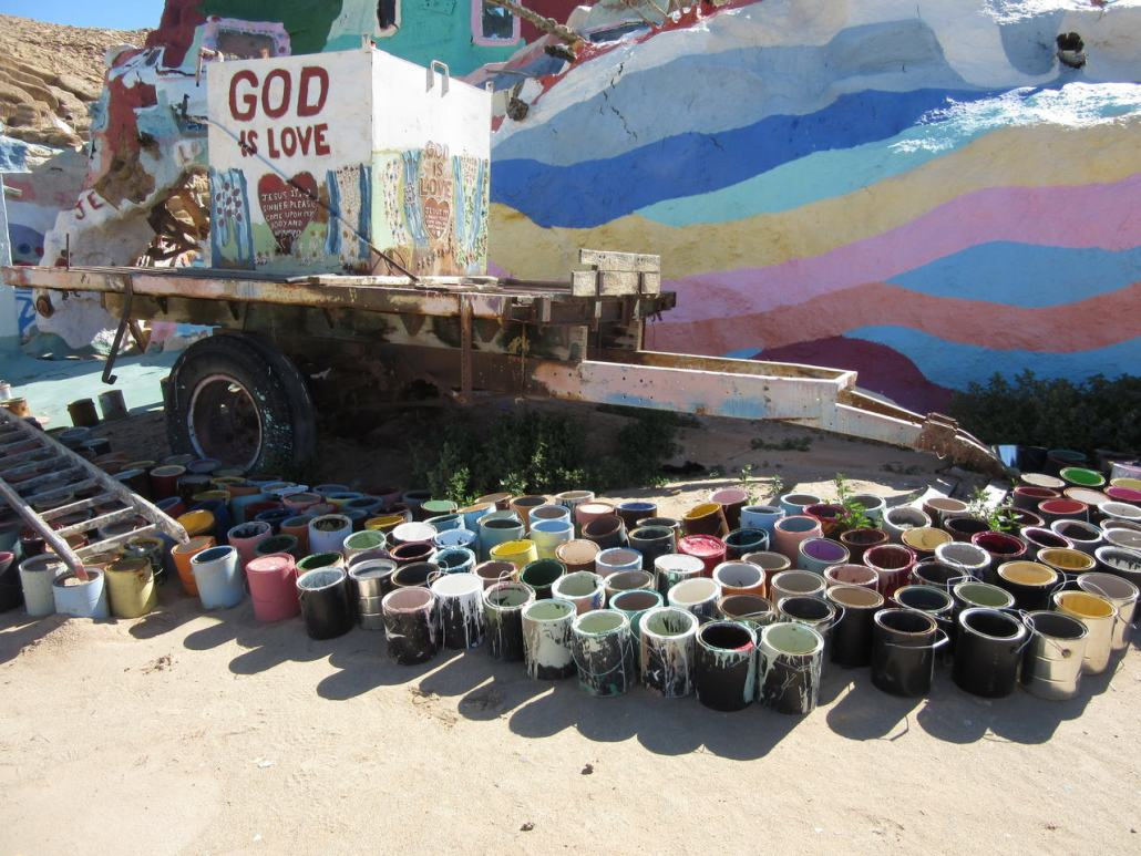 Salvation Mountain Slab City CA