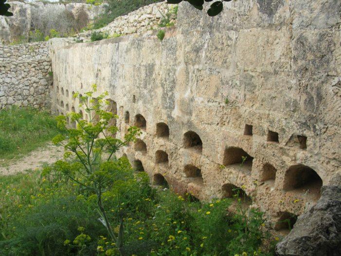 Roman beehives Malta