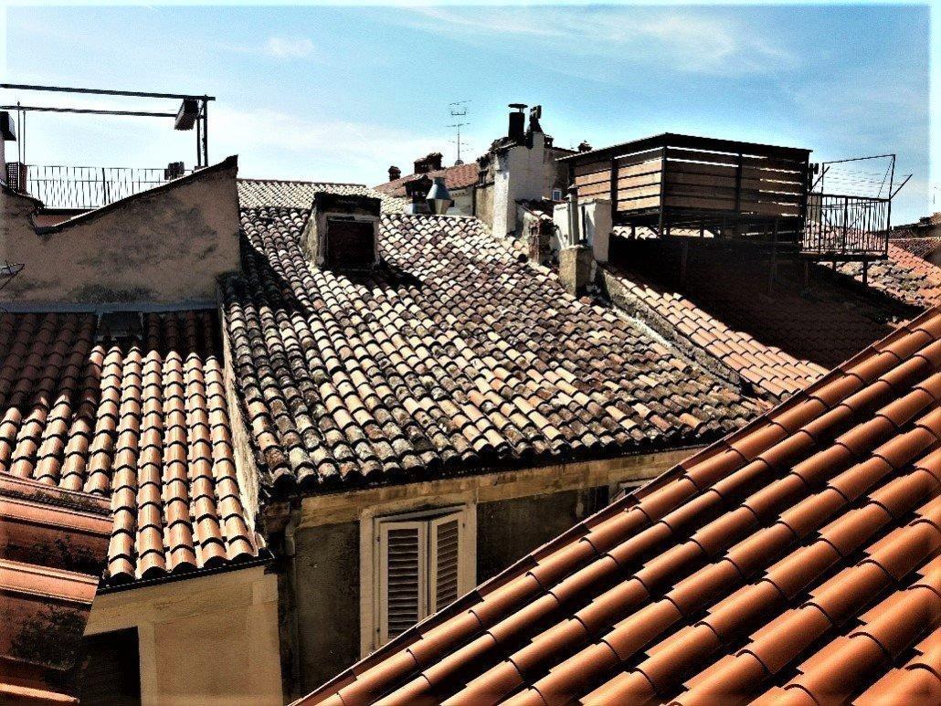 Roof tops in Piran