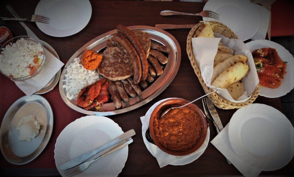 Balkan feast at Sarajevo 84 in Piran