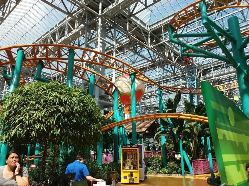 Mall of America amusement park