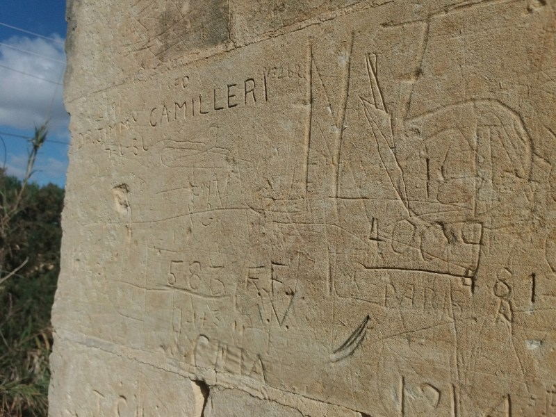 Graffiti on wall at Fort Benghisa Malta