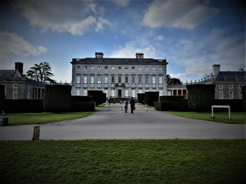 Front entrance to Castletown House