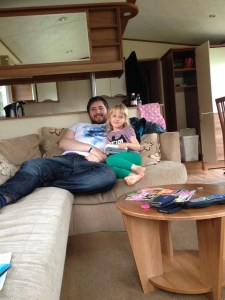 Getting Cosy in our Caravan