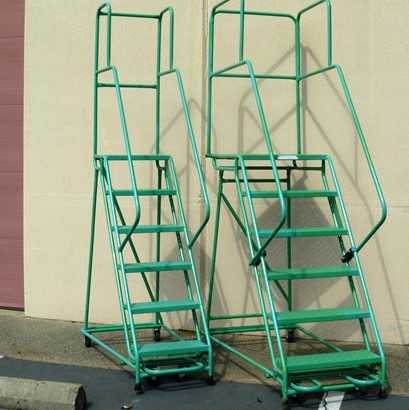 rolling ladder sacramento, rolling ladder bay area, rolling ladder san francisco, rolling ladder san jose, stocking stairway sacramento