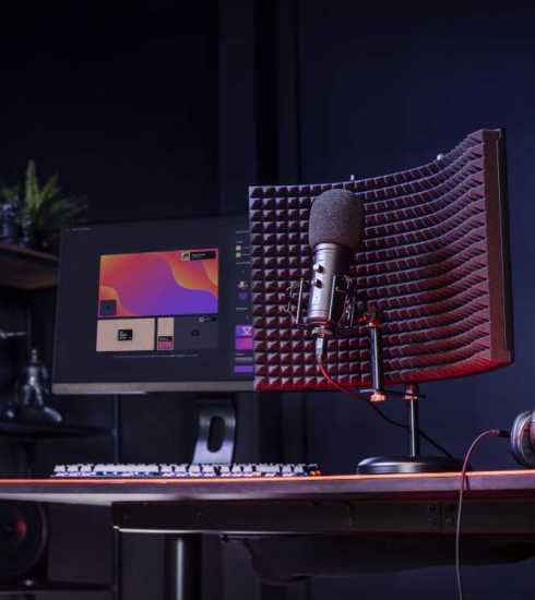 Profesionálny domáci mikrofón Trust GXT 259 Rudox