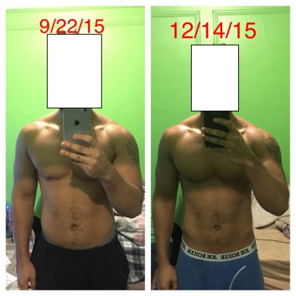 Edwin 18 pounds of fat loss