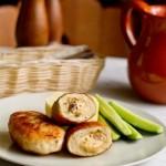 Куриные котлеты с грибами и сыром3