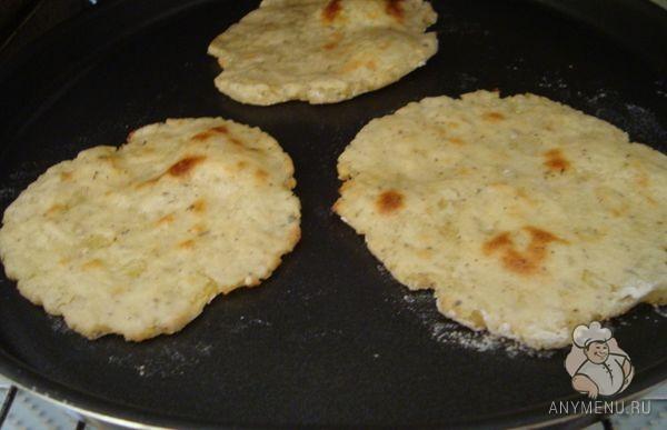 Ароматные картофельные лепешки постные3