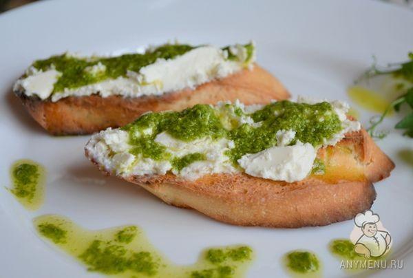 Базиликовый соус с оливковым маслом (1)