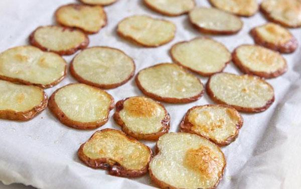Закуска из печёного картофеля2