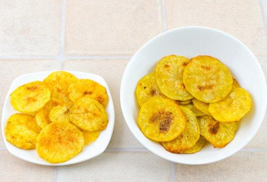Картофельные чипсы6