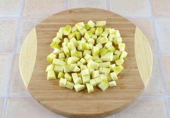 Фруктовый салат с орехами3