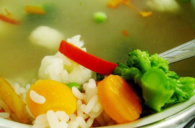 Диетический овощной суп2