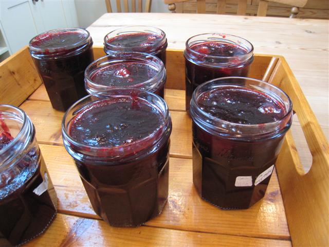 Blackberry and Apple Jam (1/6)
