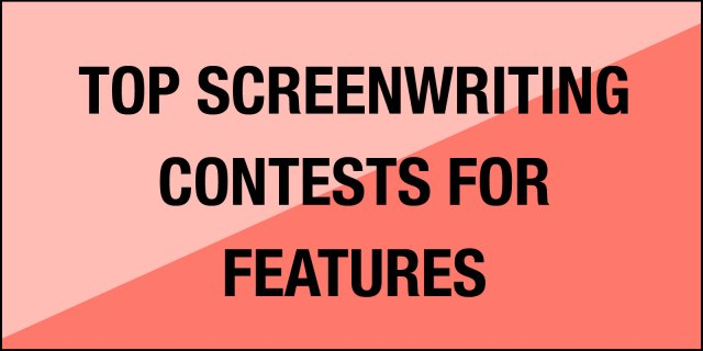 Screenwriting contests