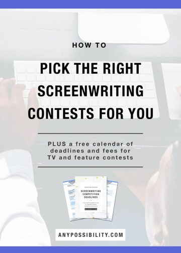 How to Pick the Right Screenwriting Contests for You