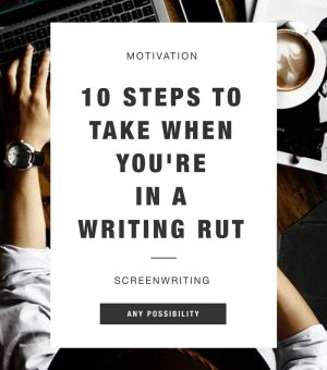 Writing Rut