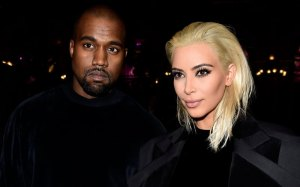 Kim K as blond