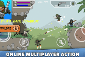Mini militia game download – Android, iPhone & Windows mini militia game