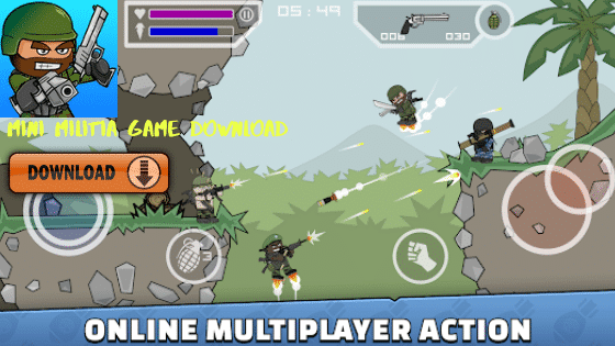 Mini militia game download - Download mini militia apps for all device Android iPhone Windows