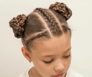 Black little girl braid hairstyles