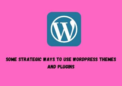 Some Strategic Ways to Use WordPress Themes and Plugins