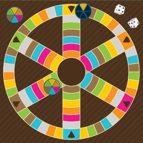 Trivia board game