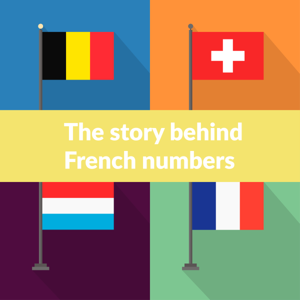 French-speaking countries flags