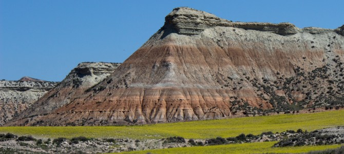 Bardenas Reales – Desert or a feast of colour?