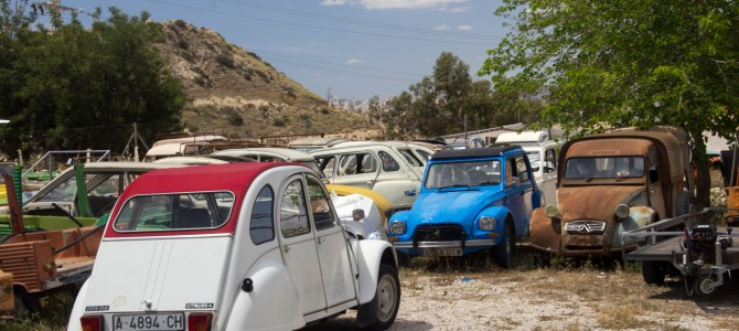 The 2CV Graveyard in Alicante