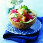 Recipe: Mini Melon Medley with Prawns in a Ginger Dressing