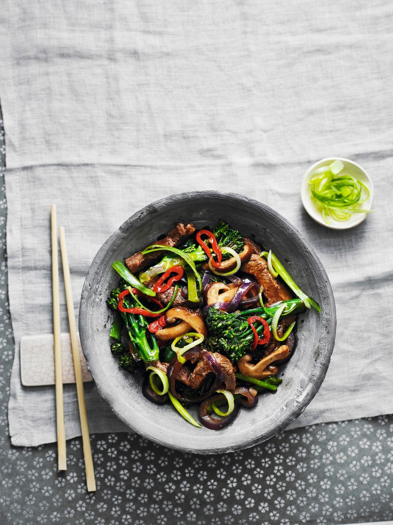 Firey Beef and Broccoli stir fry