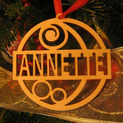 Victorian Ornament - Annette