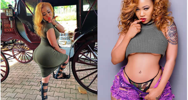 Ain't my fault that your daddy calls me mummy — Vera Sidika replies request to reduce scandalous posts