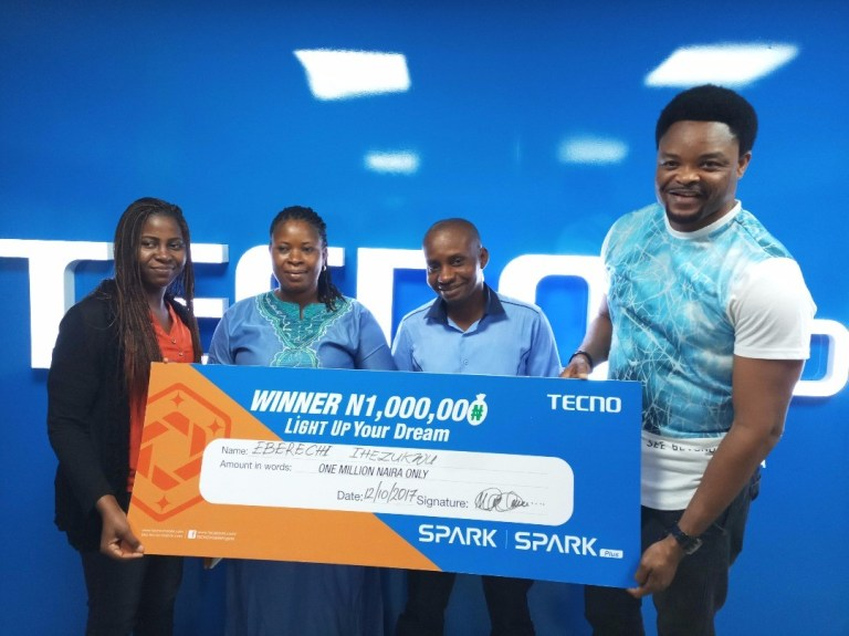 4 Families Rejoice as TECNO Mobile Redeems their Prizes