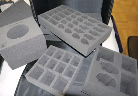 Lots of foam