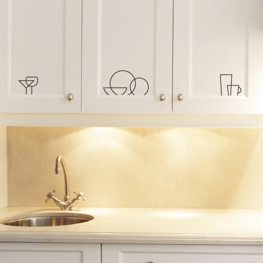 Kitchen Cabinet Decals Roselawnlutheran