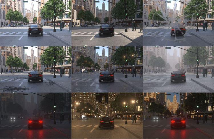 Simulating light and sensors - Variability