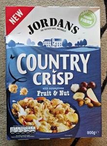 Jordan's Country Crisp - January Degustabox