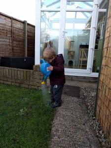 Making muddy puddles