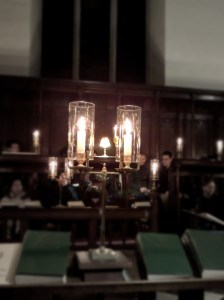 Candlelit Choir at Peterhouse Chapel
